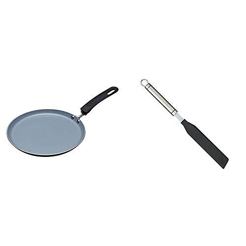 KitchenCraft MasterClass Ceramic Non Stick Induction-Safe Crêpe and Pancake Pan, 24 cm