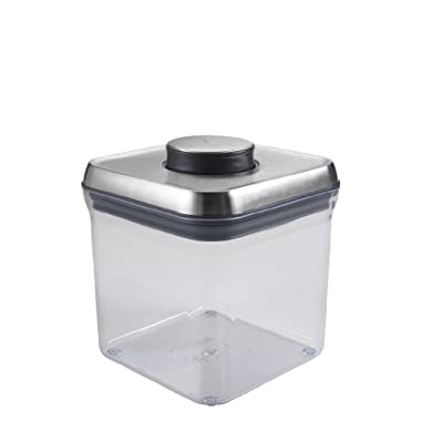 OXO SteeL POP Container – Airtight Food Storage – 2.4 Qt for Sugar and More