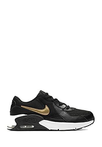 Nike Air Max Excee (PS), Scarpe da Corsa, Unisex Bambini, Nero (Black/White/Dk Grey), 27.5 EU