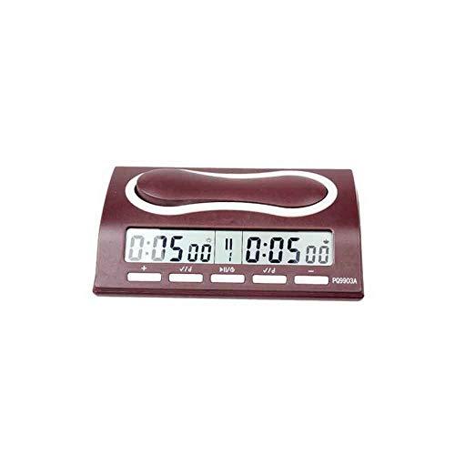 HENGTONGTONGXUN Cronómetro, Juego Electrónico Ajedrez Reloj, Chino Ajedrezo/Cronómetro Temporizador