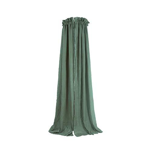 Jollein Betthimmel ash green Baldachin grün 155 cm für Kinder- & Babybett | 002-001-00095