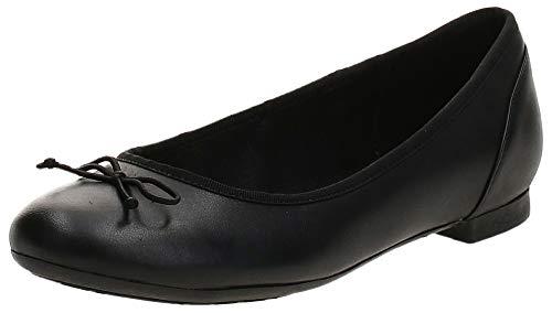 Clarks Couture Fleur Womens Grande Ballerine Chaussures 6.5 D (M) UK/ 40 EU Black