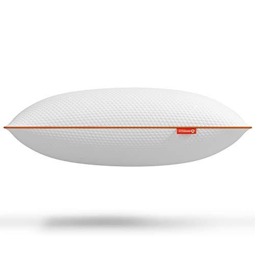 Almohada con Efecto Memoria de Octasmart Essentials para Disfrutar de un Suave Confort y un sueño más Fresco - Tecnología Octacell Comfort para el Soporte de Cuello y Cabeza