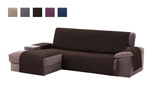 Textilhome - Funda Cubre Sofá Chaise Longue Adele