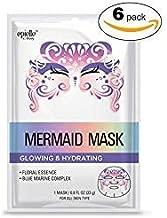 Character Mask - Mermaid 6pk (Total of 6 Masks)