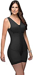 Fajas Colombianas D'Prada Full Body Shaper Post Surgery Abdomen Compression Garment with Bra Ref 11215