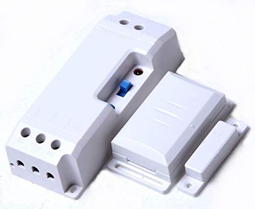 Funk-Abluftsteuerung EINBAU DAS-2090-E bis 2300W mit Fensterkontaktschalter DFM-1000. Lichtfunktion der Dunsthaube bleibt erhalten.