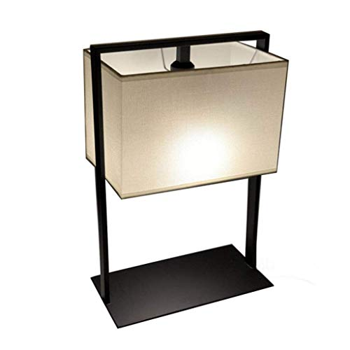GUOCAO Luz Iluminación decorativa, Reading lámpara- de noche y lámparas de mesa lámpara de mesa estilo chino Salón Dormitorio Estudio lámpara de cabecera de la personalidad Mesa de la lámpara minimali