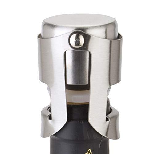 Tapón de botella de champán de acero inoxidable de PYCONG, máquina de sellado al vacío de tapón de botella de vino espumoso