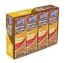 Lance Whole Grain Cheddar Cheese Sandwich Crackers, 12 oz