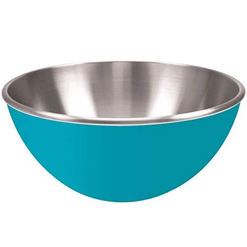 ZAK Gemini bol en mélamine en acier inoxydable de 25 cm bleu aqua