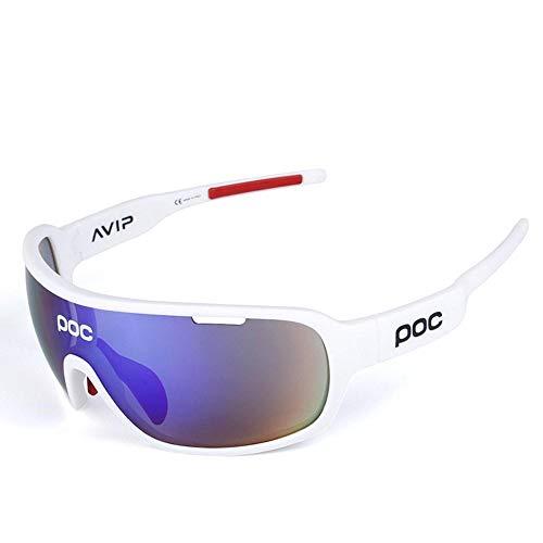 applemi Gafas De Ciclismo Deportivas Gafas De Sol Polarizadas, Lentes Intercambiables, ProteccióN Uv 400, Gafas De Sol Deportivas Antivaho Hd Para Ciclismo, Pesca, Carrera, ConduccióN, Golf-B