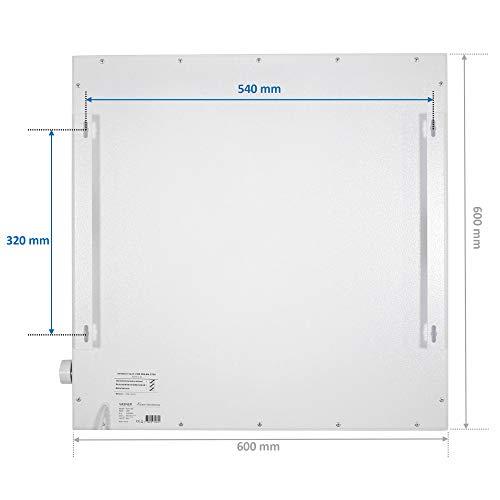 VASNER Konvi Infrarotheizung mit Thermostat 600 Watt Hybridheizung inkl Wandmontage 2J Bild 5*