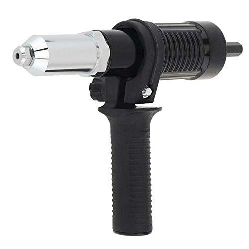 Remachadora Adaptador para pistola eléctrica Remachadora Herramienta profesional inalámbrica Remachadora de tuercas para taladro inalámbrico Remachadora eléctrica