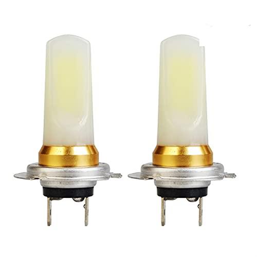 ScottDecor Lámpara 2 unids H8 H9 H7 LED H11 HB4 9006 HB3 9005 Coche Fog Luces Bulb 1400LM 6000K Blanco Auto Duración de la lámpara de Funcionamiento 12V Estilo de Coche (Socket Type : 9005/HB3)