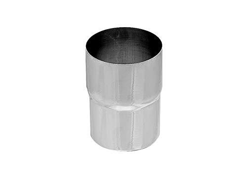 Zambelli VM Blank-Zinc® Ablaufrohr-Verbinder DN 100 mm - Einfache Montage & Formsicher & exakte Passgenauigkeit