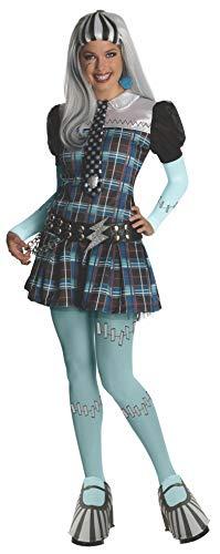 Monster High - Disfraz de Frankie Stein para mujer, Talla nica adulto (Rubie's 880700)