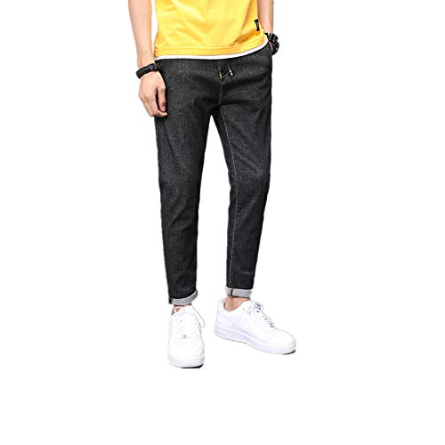 Herren Jeans Frühling und Herbst Mikroelastische Casual Personality Ragged Jeans...