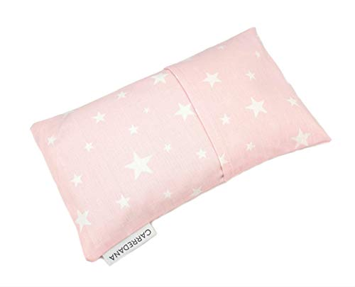 Saco térmico anti-cólicos bebé. (Estrellas rosa)