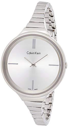 Calvin Klein dames analoog kwarts smartwatch polshorloge met roestvrij stalen armband K4U23126