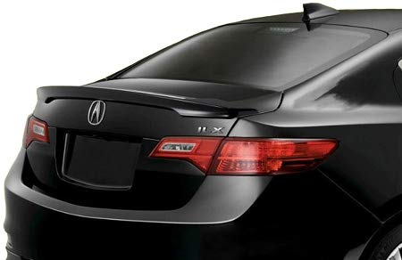 Spoiler for an Acura ILX Factory Style Spoiler 2013-2018-Crystal Black Pearl Paint Code: NH731P