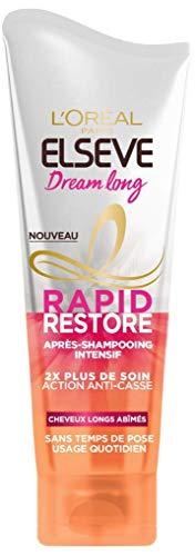 L'Oréal Paris Elsève Rapid Restore Dream Long Après-Shampooing Intensif/Action Anti-Casse 180 ml