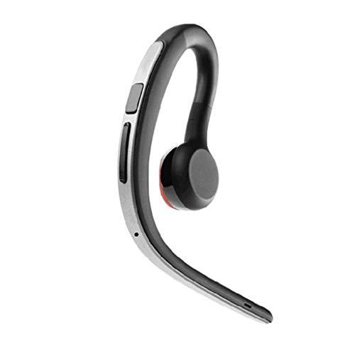 Yowablo Bluetooth Wireless Headset Stereo Kopfhörer Kopfhörer Sport Freisprecheinrichtung Universal ( Silber )