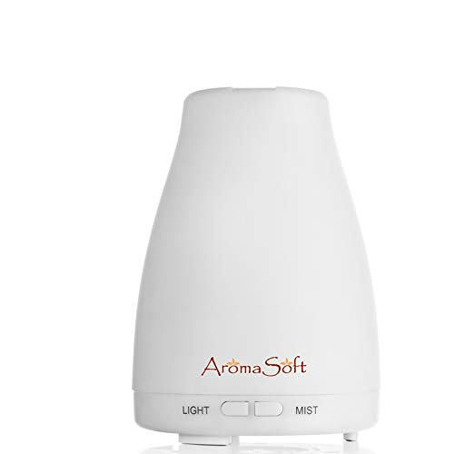 Lifetime Warranty Essential Oil Aromatherapy Diffuser | Natural Ultrasonic Cool Mist Diffusion for All Your Aroma Oils-Easy to Use for A Healthier You-Portable-Create Your Own Home Spa-Auto Shut-Off