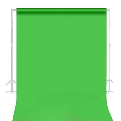 MUYUNXI Paño De Fondo Verde para Fotografía Fotográfica Usado para Fondo De Fotografía Mantel Cortina De Escenario Fiesta De Halloween Fiesta De Disfraces(Size:3.3 * 1m(10.8 * 3.2ft))