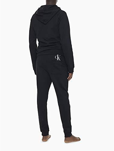 Blusão moletom logo ck one, Calvin Klein, Masculino, Preto, GG