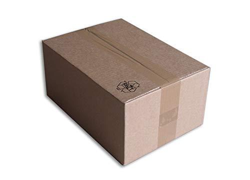 Lot de 25 Boîtes carton (N°36) format 305x215x140 mm