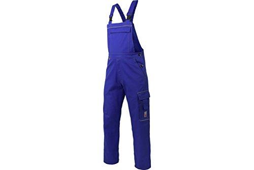 WÜRTH MODYF Basic Latzhose : Die preiswerte Latzhose ist in der Größe 52 erhältlich. Die Hose mit elastischem Bund ist in Royalblau verfügbar. Die wertige Latzhose mit Reflektorstreifen!