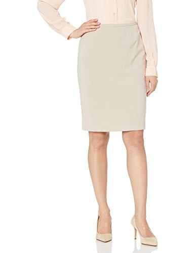 Calvin Klein Women's Skirt (Regular and Plus Sizes), Latte, 6