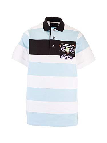 Prada Luxury Fashion Herren UJN640S2011WB8F0UB3 Hellblau Poloshirt | Frühling Sommer 20