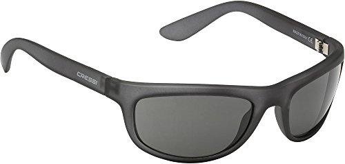 Cressi Wolf Sonnenbrille, Grau/Linsen Grau, Uni