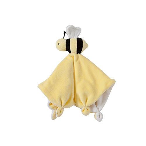 Burt's Bees Baby - Lovey Plush, Hold Me Bee Soother Security Blanket, Organic Cotton (Sunshine Yellow)