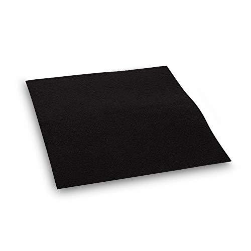 Klarstein Aktivkohlefilter für Darya Dunstabzugshauben, Ersatzteil, Filtermatte: 23, 6 x 29, 6 cm, Umluftbetrieb