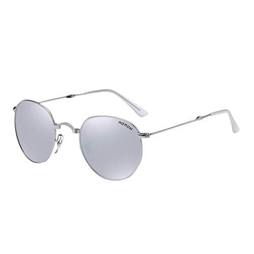 Xniral Unisex Polarisiert Sonnenbrille Faltbare Brille(Grau)