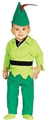 Baby Boys Girls Robin Hood Fairy Tale Book Day Hero Villain Fancy Dress Costume Outfit 6-12 & 12-24 Months (12-24 Months)