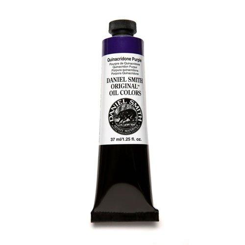 Daniel Smith Original Oil Color 37ml Paint Tube, Quinacridone Purple