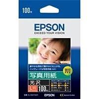 (業務用4セット)エプソン EPSON 写真用紙 光沢 KL100PSKR L判 100枚