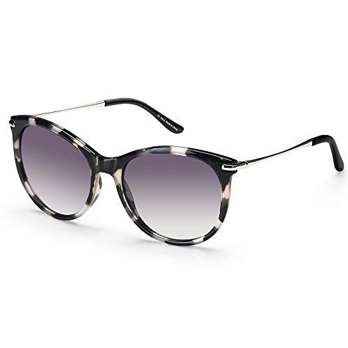 Elegear Gafas de Sol Mujer Retro 2019 Gafas Grandes Vintage Estilo Ojo de Gato 100% Protección UV400 UVA Gafas Verano Ultraligero Cómodo-Gafas Leopardo 04