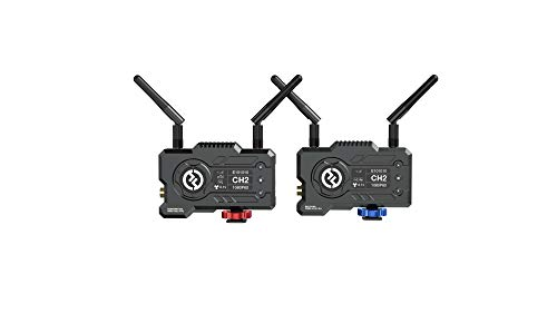 Hollyland Mars 400S PRO [Official] Wireless SDI/HDMI Video Transmission System,0.1s Latency 400ft Range,Direct Video for Live Stream,4 APP Monitoring 3 Scene Modes,Video Transmitter and Receiver