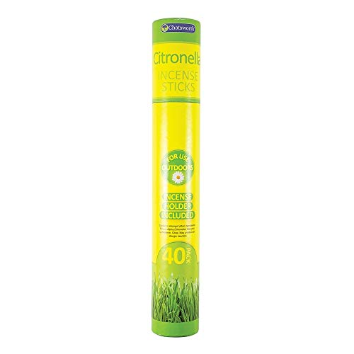 Chatsworth Outdoor Garden Citronella IncenseSticks With Holder – 30 Sticks