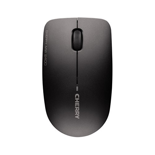 Cherry MW 2400 Wireless Maus (1200dpi, USB) schwarz