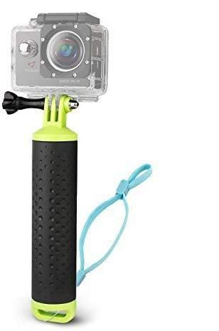 Victure Action Camera Waterproof Floating Hand Grip, Handle Mount Accessories, Water Sport Pole Diving Stick, Compatible with GoPro Hero Session Cameras and All AKASO APEMAN Crosstour Action Cameras
