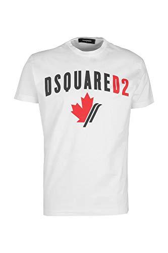 Dsquared2 t-Shirt Uomo Bianco L