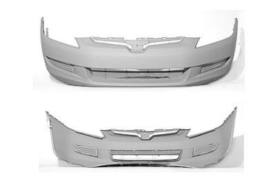 PAINTED FRONT BUMPER COVER HONDA ACCORD 2003-2005 COUPE - San Marino Red - R-94