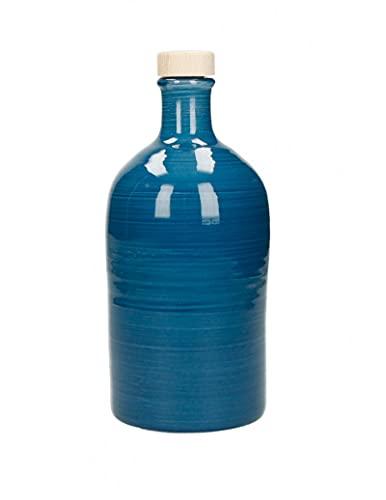 Brandani 52257 Oliera Artigianale 500ml Turchese Maiolicacm d 8,5x20h Capacita500 ml Materialemaiolica100% Made in Italy Colore Blu