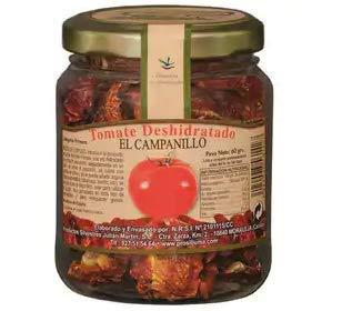 El Campanillo - Producto Silvestre- Tomate Deshidratado- Agrega Sabores especiales a tus comidas- 60 Gr